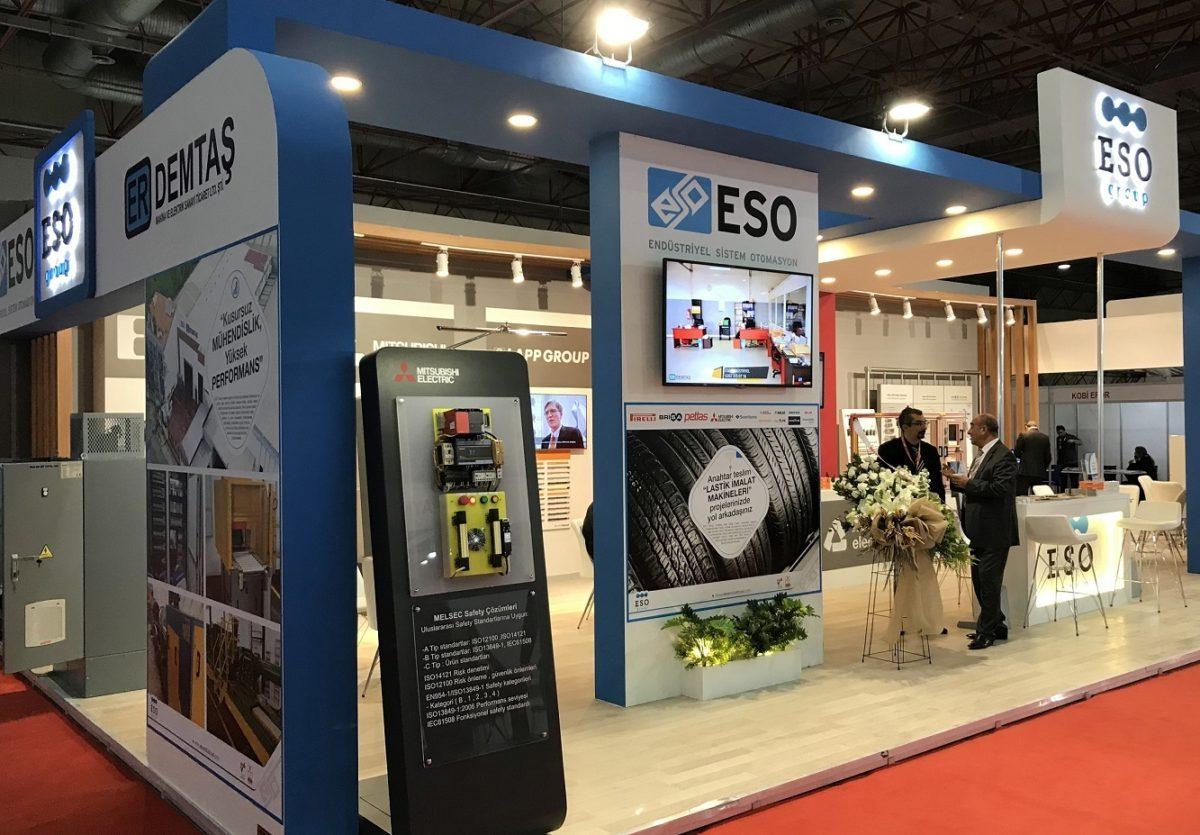 ESO Endüstriyel Otomasyon, Santek Fuarına katıldı