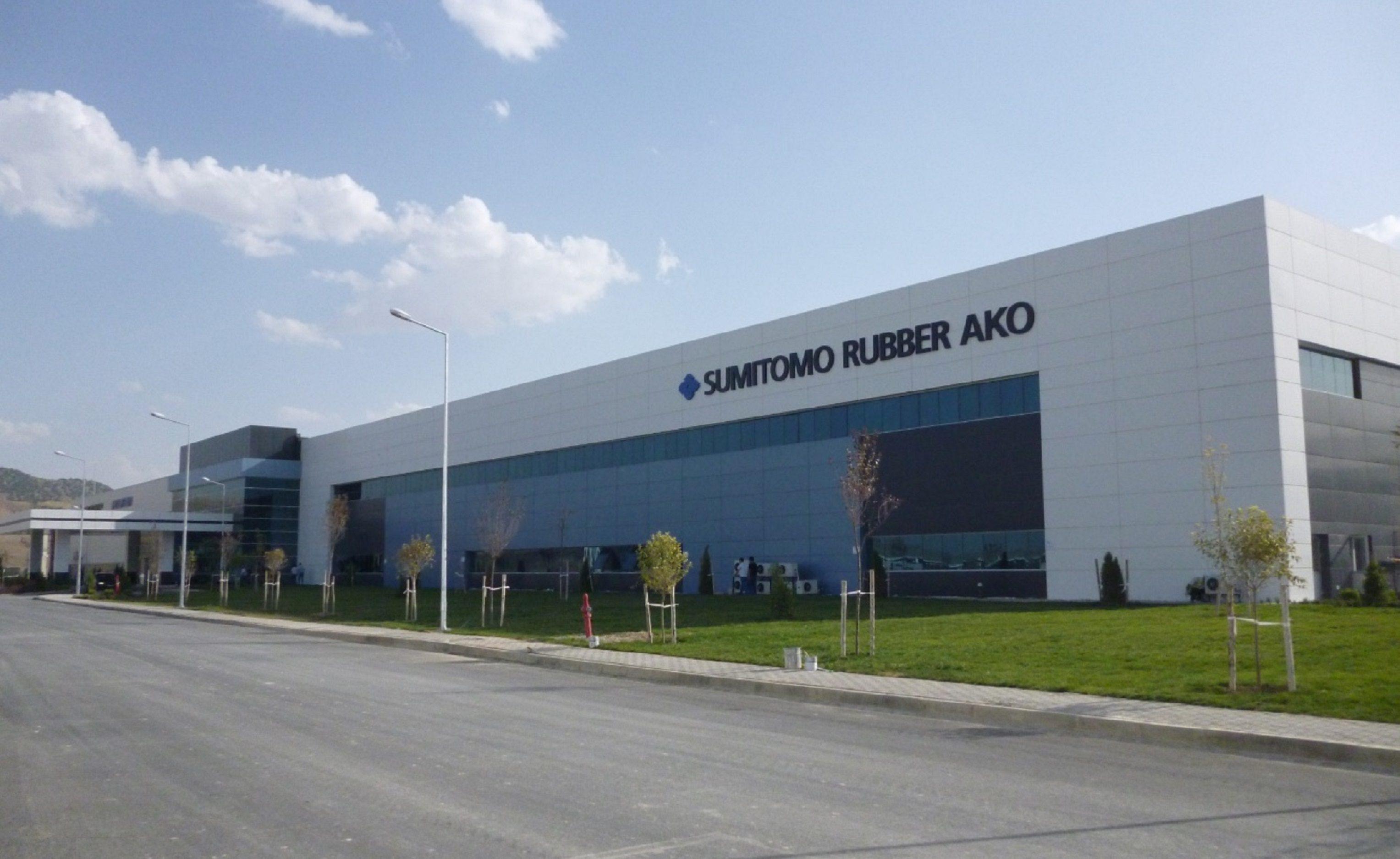 Sumitomo Rubber Ako Lastikleri ESO Endüstriyel Otomasyonu Çözüm Ortağı Seçti.