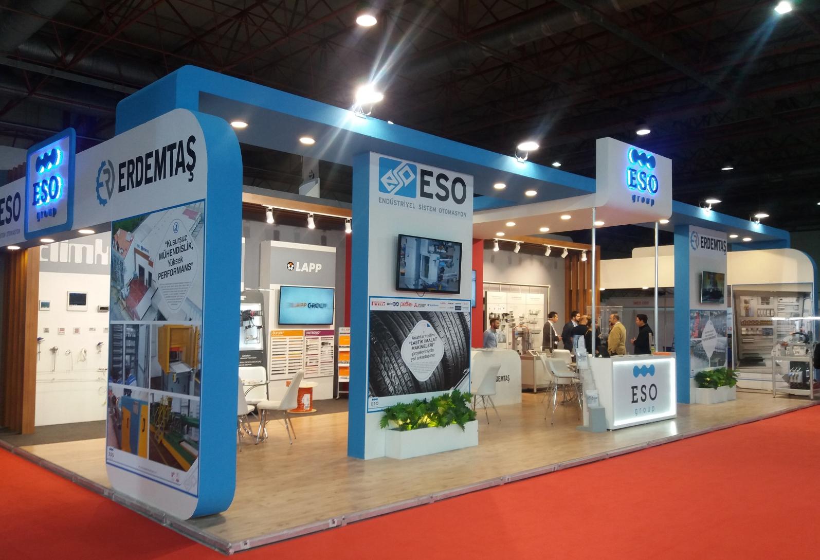 ESO Endüstriyel Otomasyon Santek 2018 Fuarında Sektörle Buluştu.