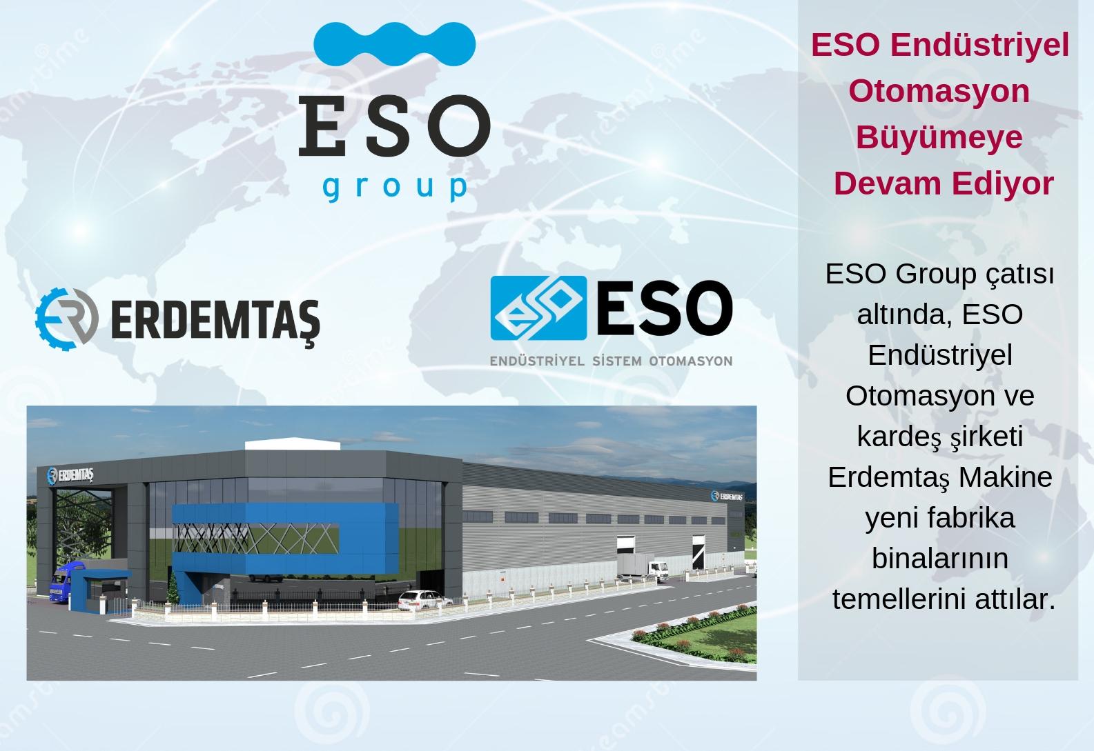 ESO Endüstriyel Otomasyon Büyümeye Devam Ediyor
